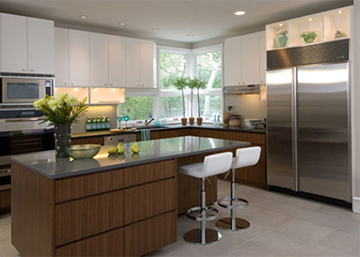 luxury-line cabinetry, kitchen cabinets